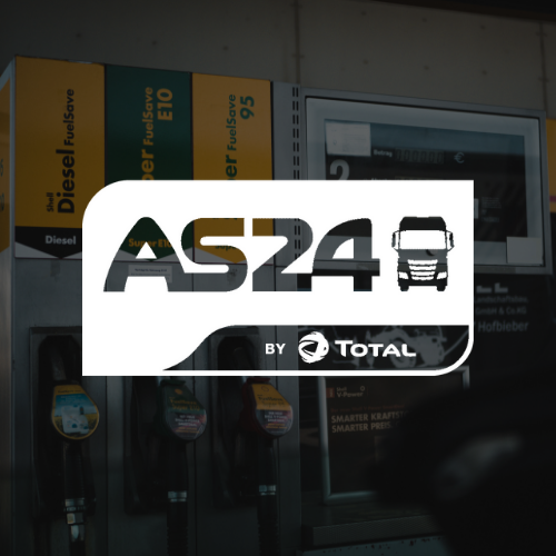 Logo AS24 blanc