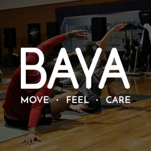 Logo Baya blanc
