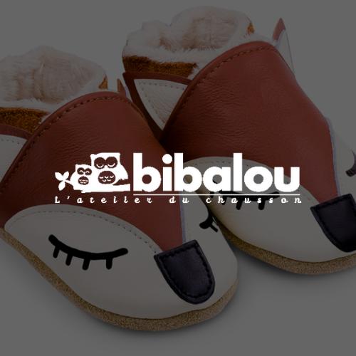 Logo Bibalou blanc