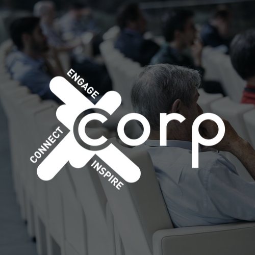 Logo Corp Agency blanc
