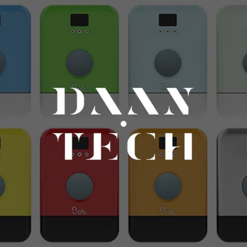 Logo Daan Tech blanc background