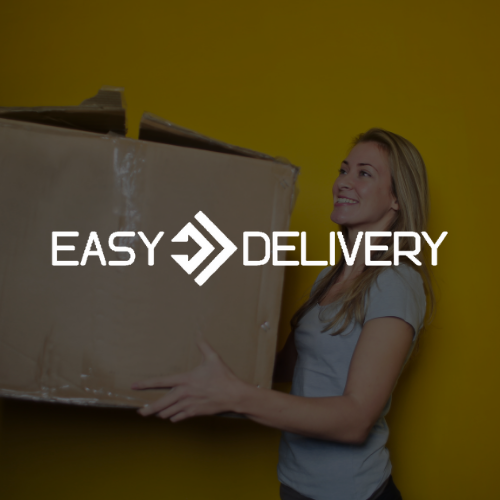Logo Easy Delivery blanc