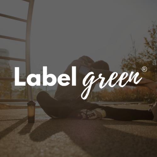 Logo Labelgreen blanc