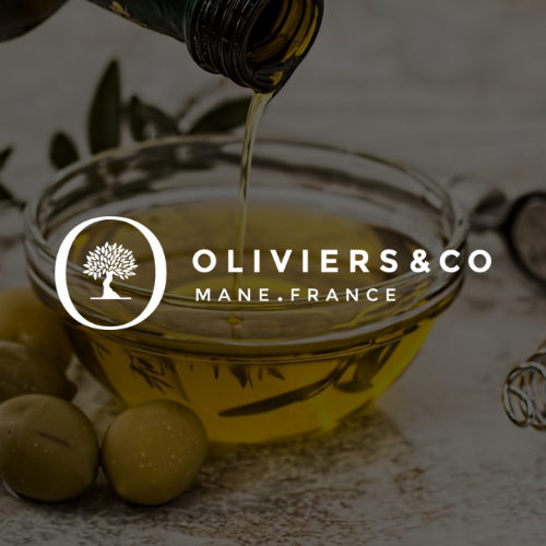 Logo Olivier and co blanc